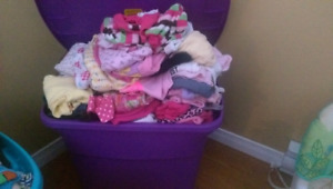 Baby girl stuff for sale!
