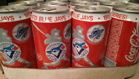 Coca Cola 1992 Commemorative Blue Jays World Series Cans Sealed