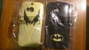 HTC One M8 case - superheroes (new)