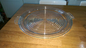MANHATTAN GLASS TRAY VINTAGE