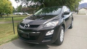2012 Mazda CX-7 Cloth SUV, Crossover one owner -factory warranty Downtown-West End Greater Vancouver Area image 2