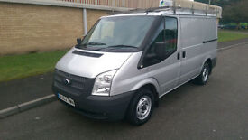 62(12) FORD TRANSIT 300 SWB LOW ROOF 2.2 FWD 140 BHP 6 SPEED SILVER
