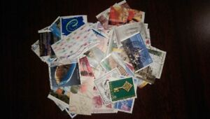 300 Used Postage Stamps from Germany, Malta and Spain - $15