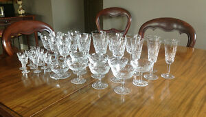 WATERFORD (IRISH) CRYSTAL - LISMORE PATTERN