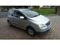 2007 VW FOX 55 1.2 petrol full year mot