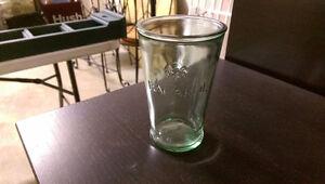 Bacardi Rum bar glasses