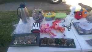 Anything in picture is left over for sale from yard sale Peterborough Peterborough Area image 1