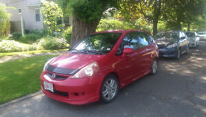2007 Honda Fit Sport- for project or parts