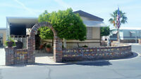 OUTDOOR and INDOOR Living at It's Best in 55+ Active Park Yuma