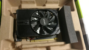 Barely Used Zotac Geforce GTX 1050