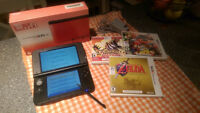 3DS XL RED + 3 Games.