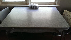 50's vintage formica table