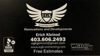 E.G.K. General Contracting / Renovations & Developments