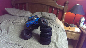 Axial wraith waterproof sensored brushless