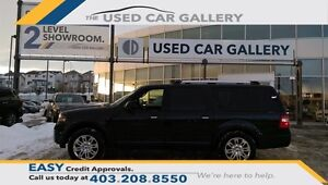 2013 Ford Expedition Max 4D Utility 4WD, LTD, Navigation No fees