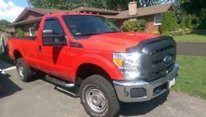 2016 Ford F-250 Plow and Salter