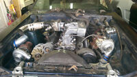 Twin Turbo 1988 Mustang coupe project