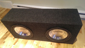 Clarion Power System Subwoofers