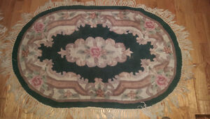 For sale two area rugs