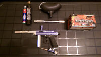 Paintball Gun (Orion) With Accessories