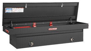 $500 OFF - BRAND NEW WEATHER GUARD ALUMINUM BLACK TRUCK TOOL BOX