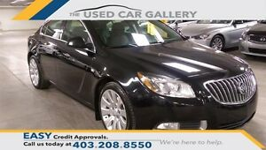2011 Buick Regal CXL Turbo 4 Dr Sedan, Leather, sunroof, No fees
