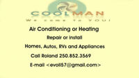 Air Conditioning Installs and Repairs,