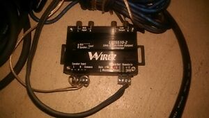 AMP wiring and conversion to use with stock radio