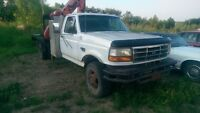 1997 Ford F-350 4x4 picker truck