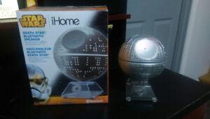 Bluetooth Star Wars Death star haut-parleur pratiquement neuf