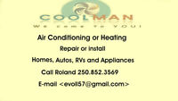Air Conditioning and Repairs