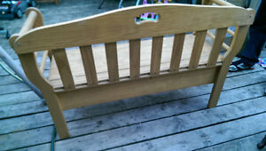 Solid Pine Bench With Storage
