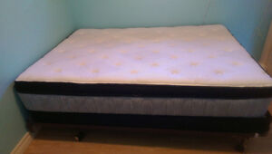 Mattress and box spring for sale for a double bed