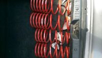 H&R race lowering springs for accord