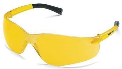 Crews Bearkat Safety Glasses with Amber Lenses ANSI Z87