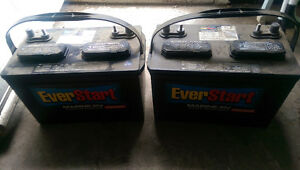Automotive/RV/marine batteries - free pickup plus I'll pay you C