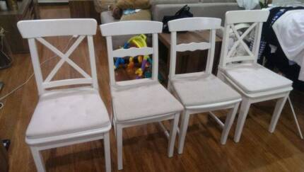 four ikea chairs Botany Botany Bay Area Preview