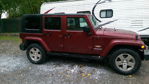 2008 Jeep Wrangler Sahara Unlimited 4x4 trail edition suv