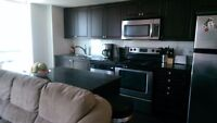 2 bed 2 bath condo with parking incl.