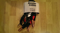 For sale 8' 2.5 m booster cables