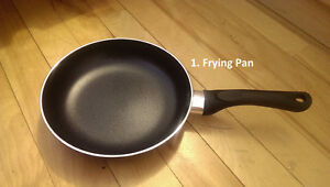 Cookware, saucepan, frying pan, casserole