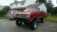 1988 Dodge Power Wagon w150 Pickup Truck