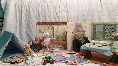 American Girl  Angelina Ballerina Furniture/Clothes/Dolls Lot Retired