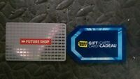 I have a gift card worth $60 at best buy/future shop