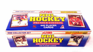 1990-91 Score Hockey Factory Sealed Set US Version Eric Lindros