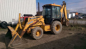 2001 John Deere 310 4x4 Backhoe 7005 Hours