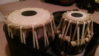 Tabla Set with carrying bag