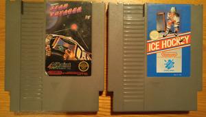 Jeux NES : Star voyager et ice hockey // 5$ chaque ou 7$ les 2