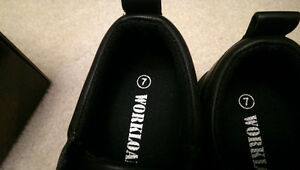 Brand New Steel toed size 7 Shoes!