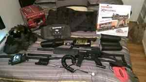 Kit complet  paintball x7 phenom (nego)